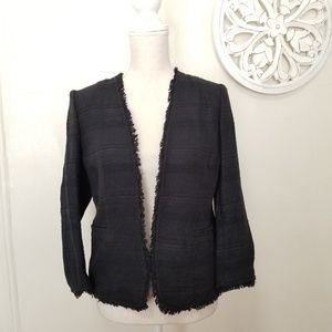 Banana republic size 6p tweeted blazer